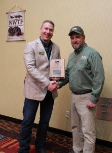 Michigan DNR's Clay Buchanan receives Conservationist of the