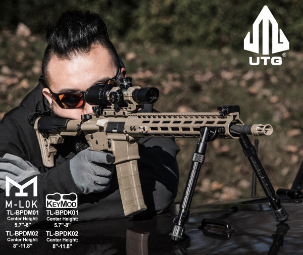 UTG Recon FlexT Bipods - ThinkingAfield org