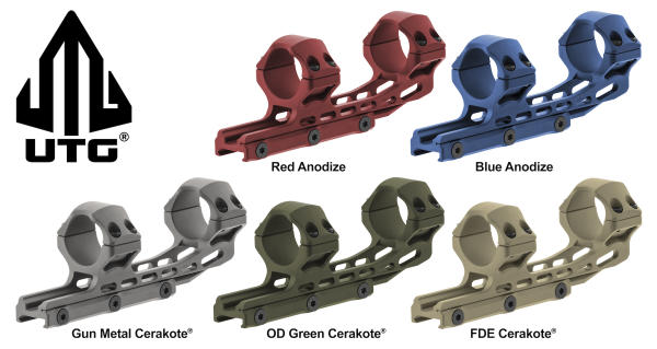 UTG ACCU-SYNC Scope Rings | Outdoor Wire