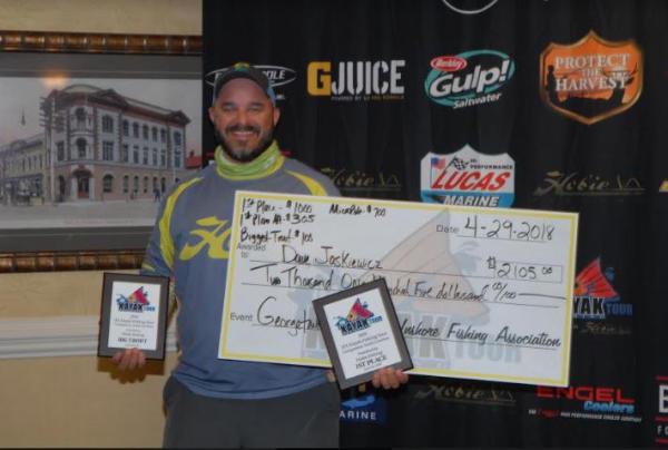 Jaskiewicz Wins IFA Kayak Fishing Tour Event at Georgetown