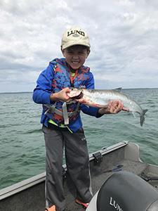 Cisco Fishing in Northern Lake Michigan | Fishing Wire