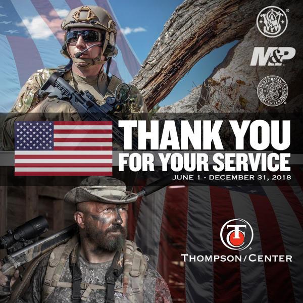 Smith & Wesson, Thompson/Center Arms Military Appreciation Program