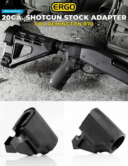 ERGO'S Remington 20ga  Shotgun Stock Adapter | Fishing Wire
