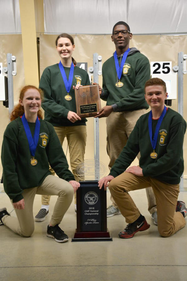 After landing in second place for years at CMP Nationals, Nation Ford High School finally made it to the top of the podium.