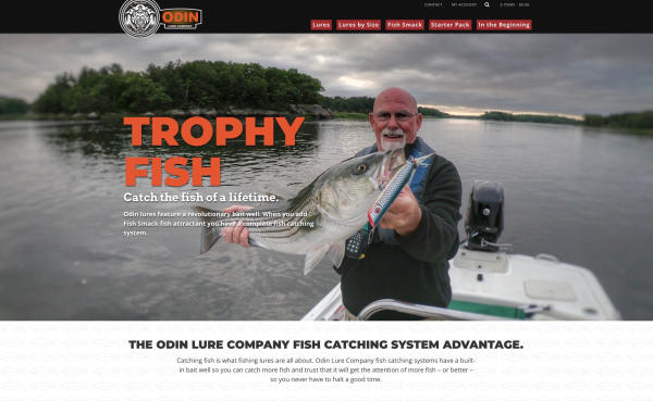 Odin Lure Company Launches New Website | Fishing Wire