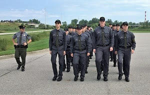 Recruits strive for honor of becoming Michigan DNR