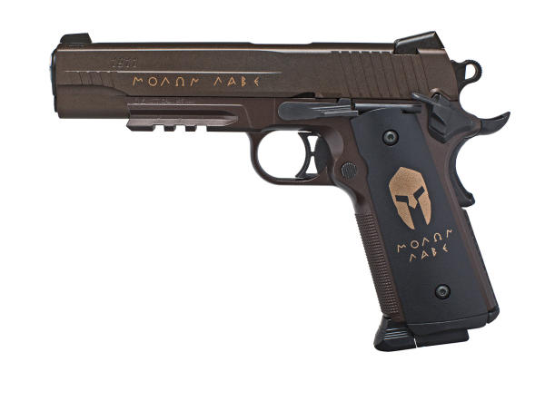 The Spartan looks and feels like a real 1911.