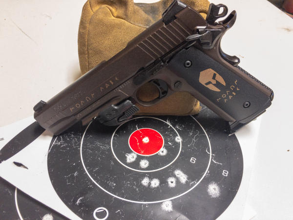 Both pistols have minute of tin-can accuracy and great for training in everyday environments like backyards and garages.
