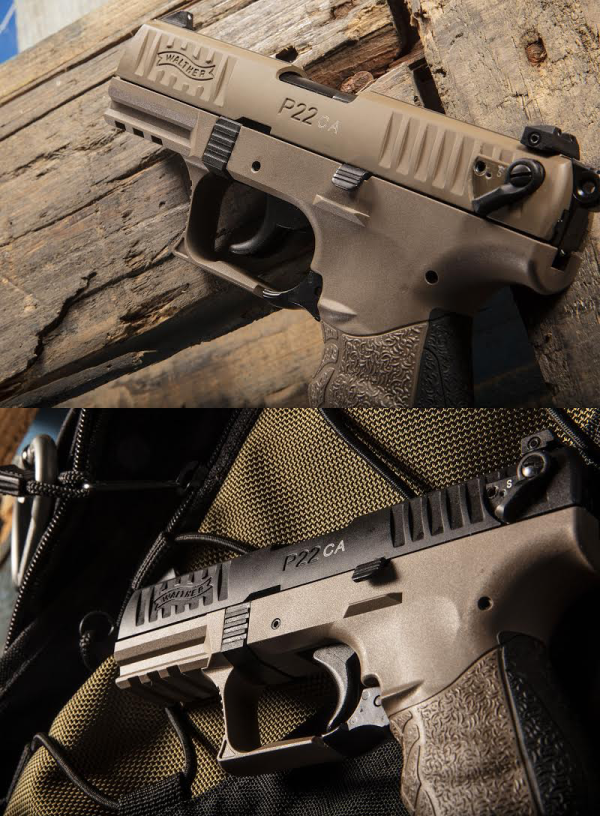 Walther P22 FDE California Models | Tactical Wire