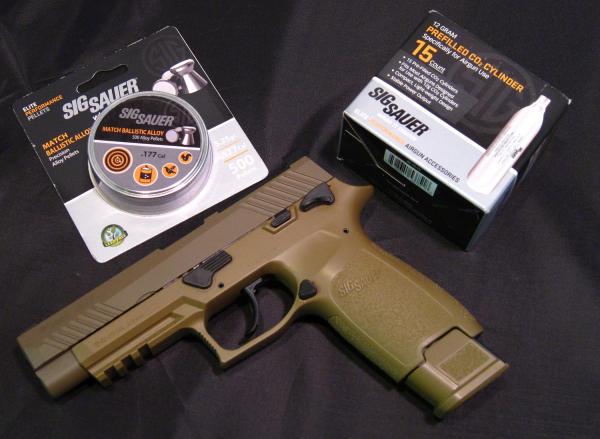 SIG's M17 ASP Air Pistol | Shooting Wire