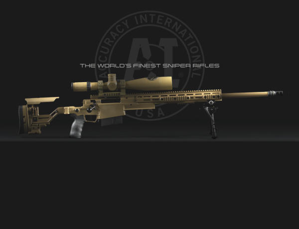 Accuracy International Advanced Sniper Rifle Limited Edition