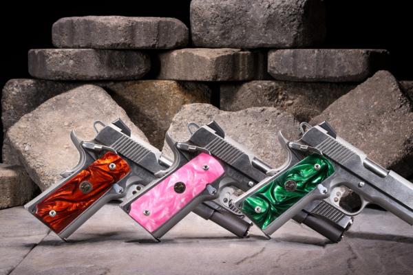 Pachmayr Custom Series Pearl Pistol Grips | Shooting Wire