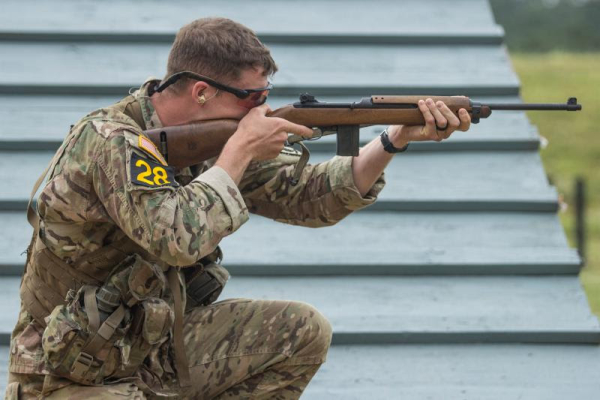 M1 Carbine in Army'