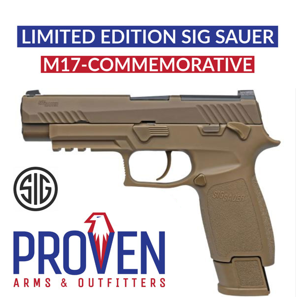 SIG SAUER Presents Ceremonial M17 Pistols for the Tomb of