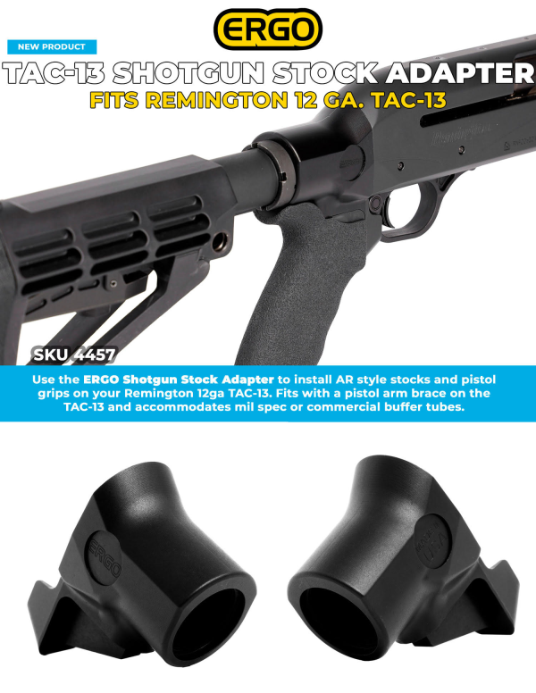 ERGO Stock Adapter for Remington TAC-13 | Outdoor Wire